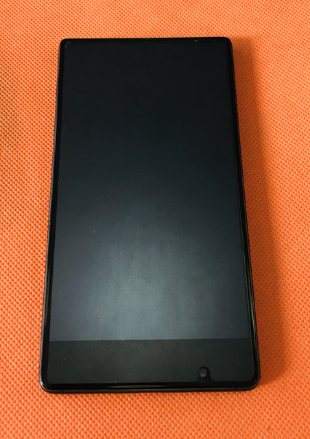 Kullanılan orijinal lcd Ekran + Sayısallaştırıcı Dokunmatik Ekran + Çerçeve UMIDIGI Kristal için MTK6737T Dört Çekirdekli 5.5 Inç FHD Ücretsiz kargo