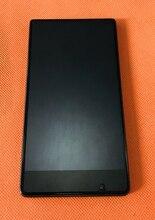 משמש מקורי LCD תצוגה + מגע Digitizer מסך + מסגרת עבור UMIDIGI קריסטל MTK6737T Quad Core 5.5 Inch FHD משלוח חינם