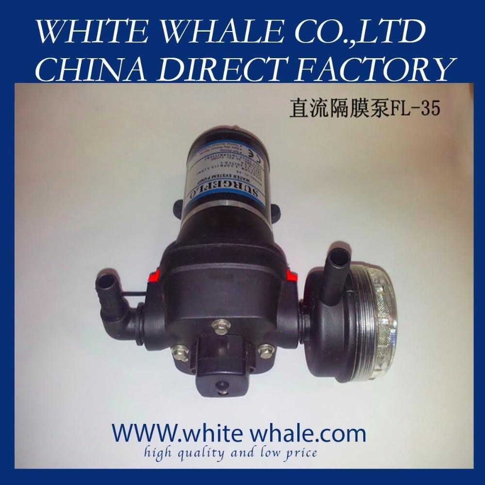 FL-35 DC 12.5l/min 35psi high flow electric air 12v Diaphragm pump for RV все цены