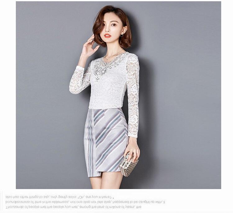 Yeni Payız Qadın bluzları Bərk rəngli uzun qollu Diamonds - Qadın geyimi - Fotoqrafiya 5