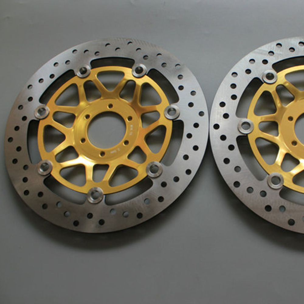 Round hole motorcycle Front Disc Brake Rotor Scooter Front Rear Disc Brake Rotor for HONDA CB400 1994 1995 1996 1997 1998 keoghs motorcycle brake disc brake rotor floating 260mm 82mm diameter for yamaha scooter bws cygnus front disc replace modify