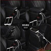 Car Armrest For Hyundai Accent RB Solaris 2011 2016 Centre Console Storage Box Arm Rest 2012 2013 2014 2015