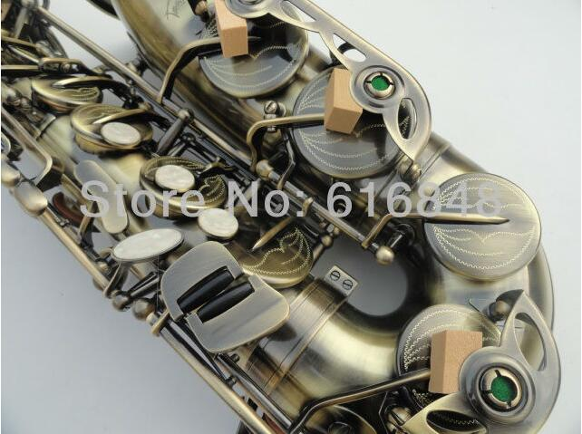SAS-54 selling Antique Copper Simulation alto saxophone selmer E flat saxophone France Henry Reference 54 sax