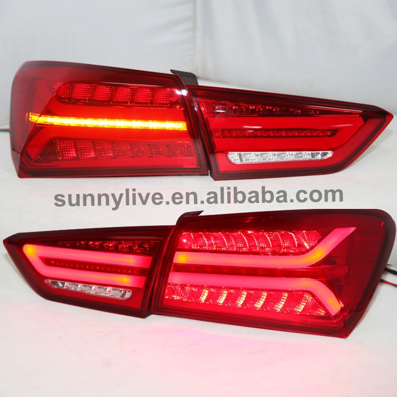 2016 To 2017 Year For Malibu XL Tail Lamp For Audi Style