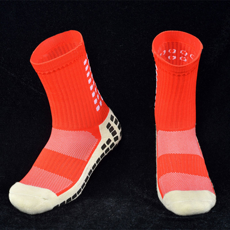 afcf7a0ea01f Sports Socks Anti Slip Soccer Cotton Acrylic Football Cycling ...
