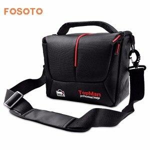 Image 1 - fosoto Camera bag Should Bags Digital photography Photo DSLR Camera Video Nylon Cave For Dslr Sony Canon Nikon D700 D300 D200