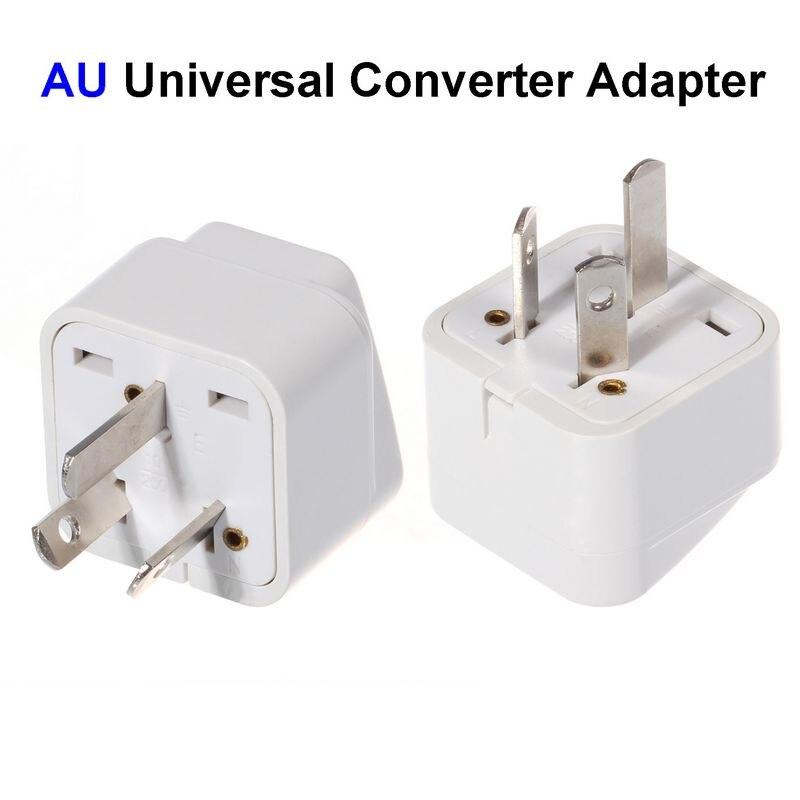 Us Eu Uk To Au Plug Adapter America European Australia Universal Ac Travel