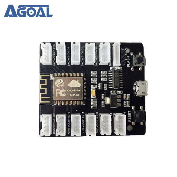 US $11 13 |ESP8266 WiFi Grove Board Kit PMS5003 WiFi Sensor Remote Control  Shield Module Free Shipping-in Replacement Parts & Accessories from