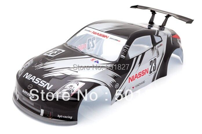 YUKALA rc parts 1/10 PVC Painted shell  body for 1:10  rc car  190mm 006 black  free shipping жесткий диск hgst ultrastar 7k2 512n 1tb 3 5