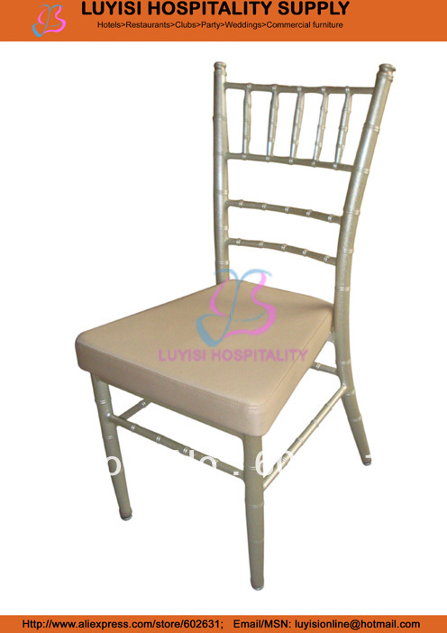 Aluminum Tiffany Chair With Fixed Seat,light In Weight,easy To Carry And Storage,paint Coating  With UV Resistance