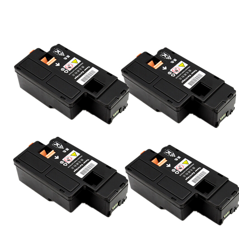 4 Black for Xerox Phaser 6000 6010 WorkCentre 6015 color toner cartridge 106R01630 106R01634