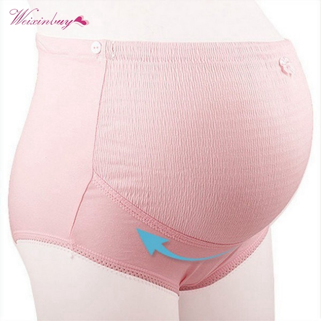 Women Maternity Panties Pregnant Lingerie High Rise Underwear Clothing