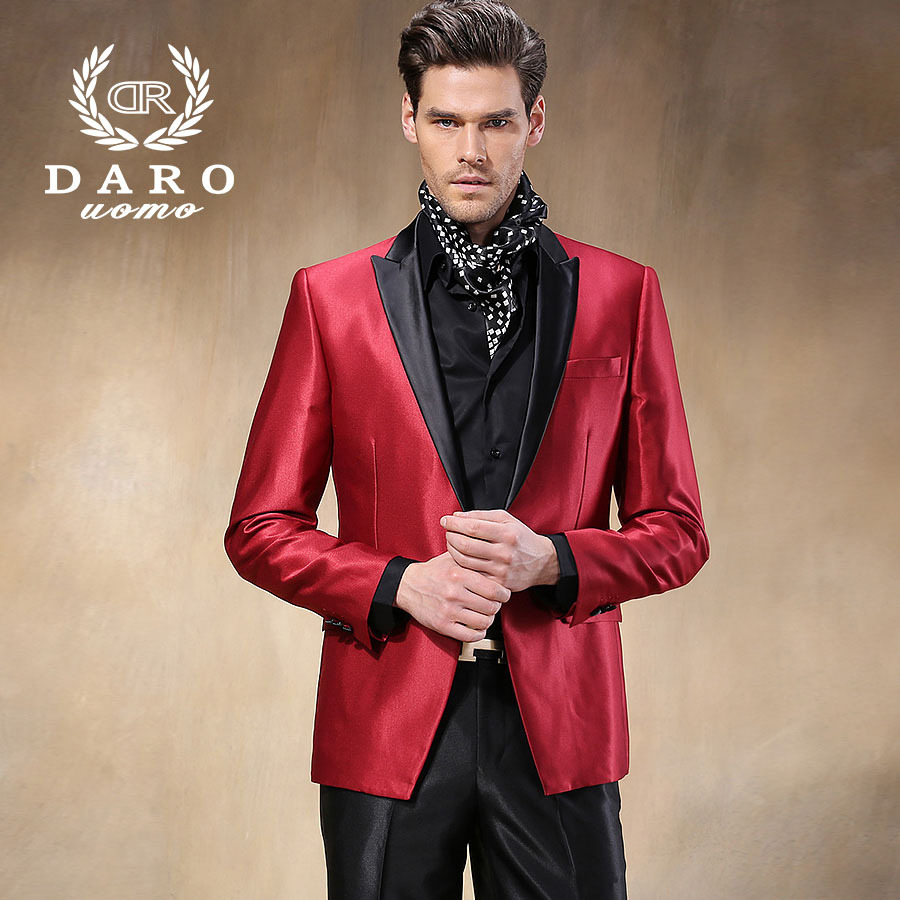 d36f2255 Only Accept Custom Tailor Service) DAROuomo Men Suits Fashion Skinny ...