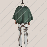 Free shipping Custom Cheap Eren Cosplay Costume (Training Corps) from Attack On Titan