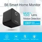 Sansnail мини IP Камера S6 Wi Fi мини Камера HD 1080 P Ночное видение видео аудиокамкодер небольшой Регистраторы PK sq11 sq12 sq13