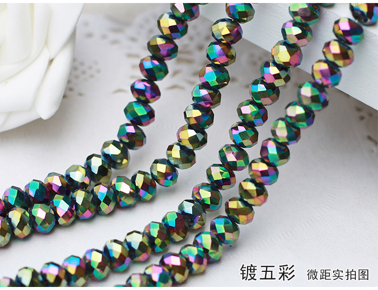 Rainbow Color 2mm,3mm,4mm,6mm,8mm 10mm,12mm 5040# AAA Top Quality loose Crystal Rondelle Glass beads батарейка aaa xiaomi rainbow colors 10 штук