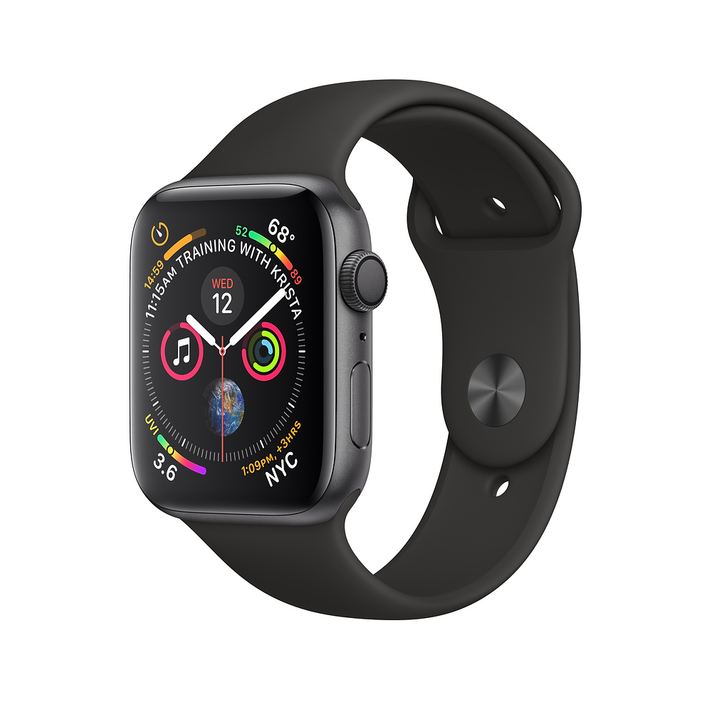 Apple Watch serie 4 | 50 M resistente al agua reloj inteligente de Apple GPS 40mm 44mm inteligente dispositivos Bluetooth 5,0 reloj inteligente