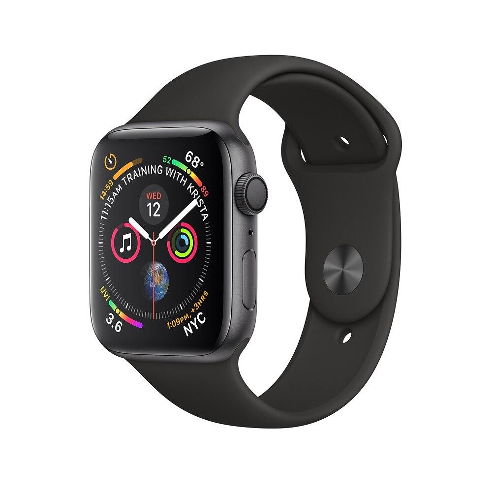 Apple Watch série 4. | 50 M étanche Apple montre intelligente GPS bande 40mm 44mm Smart appareils portables Bluetooth 5.0 Smartwatch