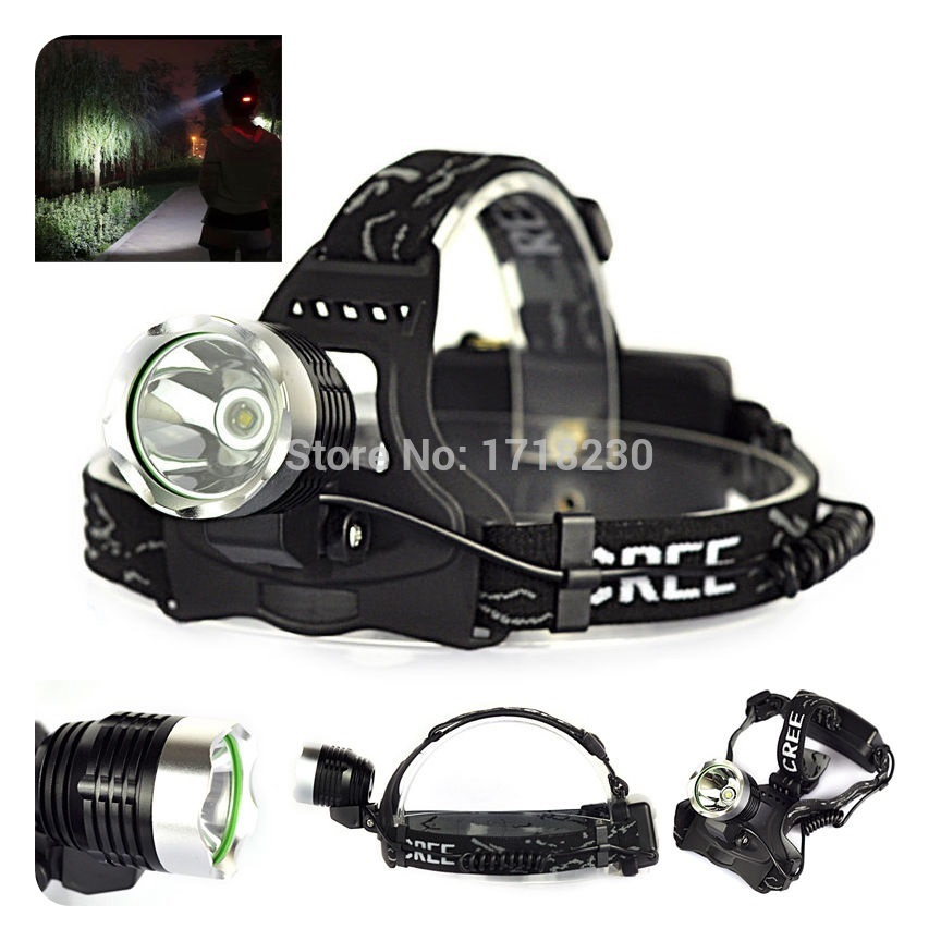 2000LM CREE XM-L T6 LED Zoomable Headlamp Headlight Head Torch 3-Mode Waterproofing NEW