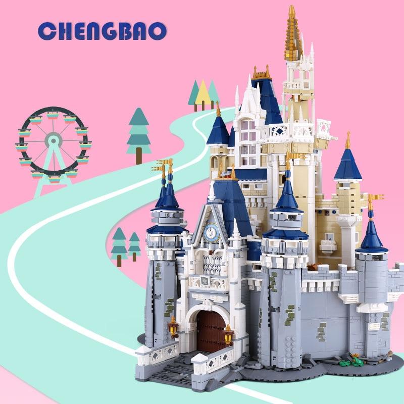 L Models Building toy Compatible with Lego L16008 4160pcs Cinderella Blocks Toys Hobbies For Boys Girls Model Building Kits все цены