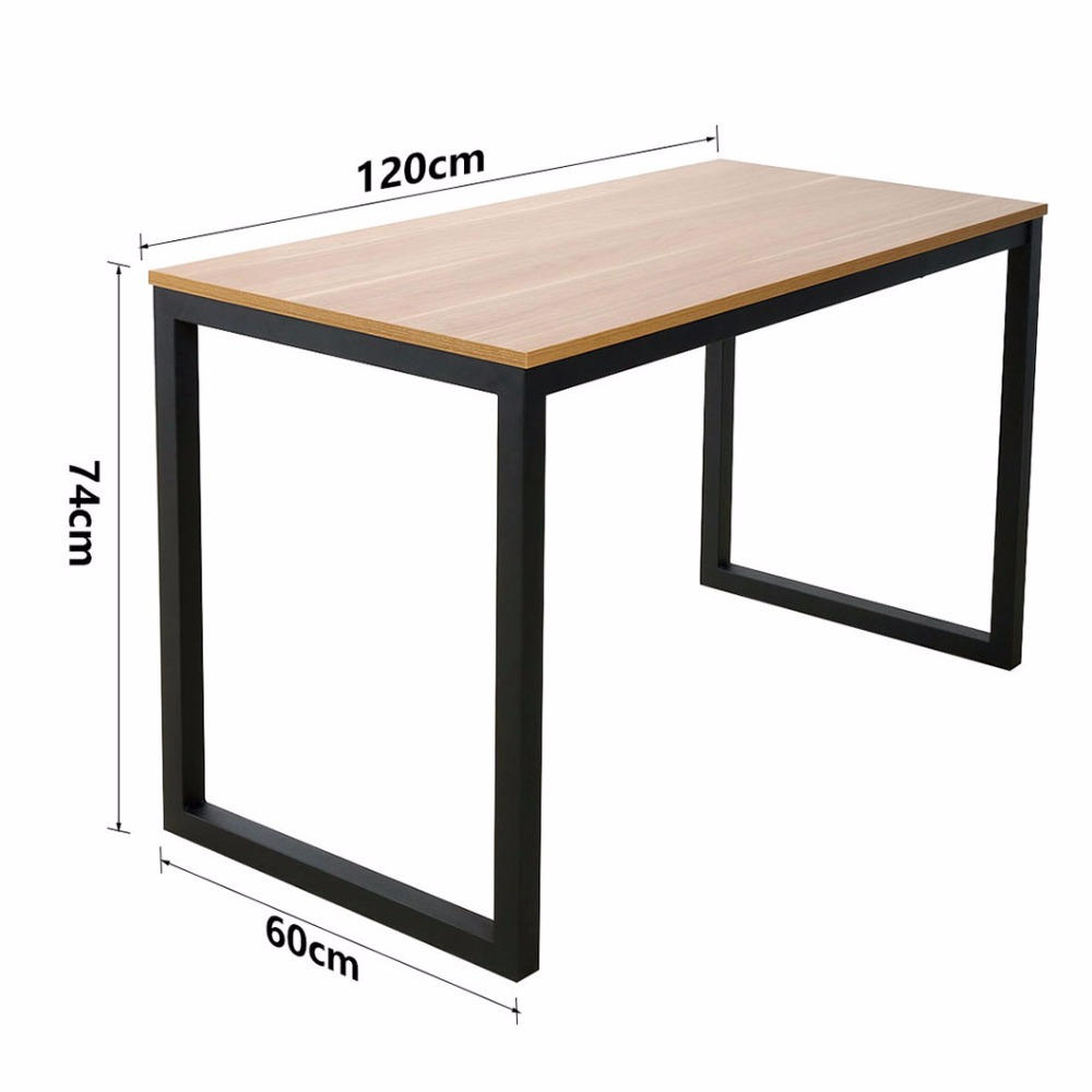 Morden simple computer table Desktop table Homing desk  top table Apply for Home, Office and more зажимы blunt 2 bolt clamp oil slick