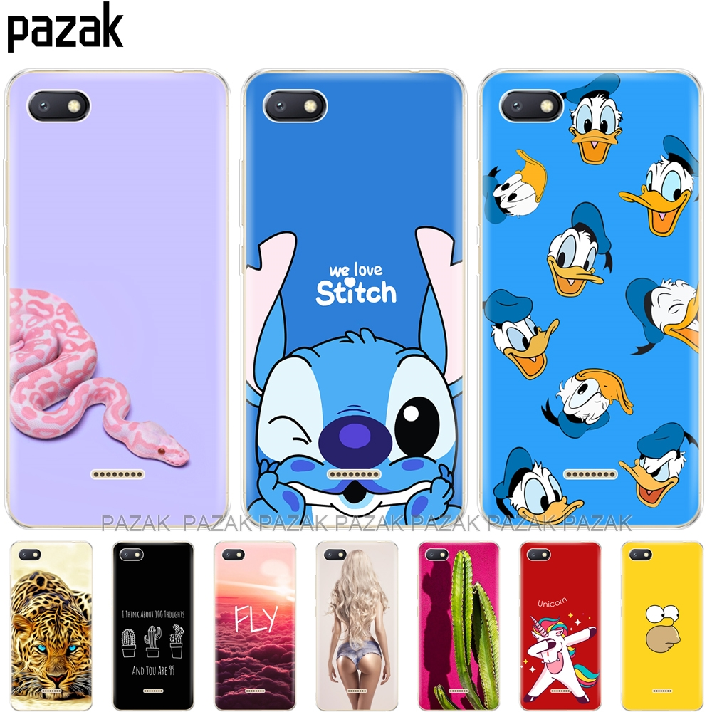 silicone case for <font><b>Xiaomi</b></font> <font><b>Redmi</b></font> <font><b>6a</b></font> Case 360 Full Protection Soft tpu Back Cover Phone shell Xiomi Redmi6 A bumper Hongmi <font><b>6a</b></font> Coque image