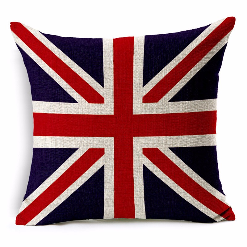 England Pillowcase Cushion Cover