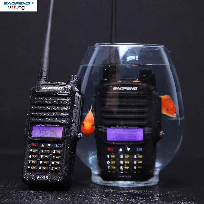 2018 Baofeng UV-XR IP67 Wasserdicht Walkie-talkie 10 Watt Leistungsfähige Zwei-wege-radio 10 KM Long range für reisen wandern