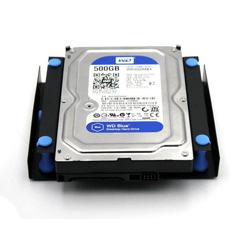 Nworld Shock-Proof 3.5 Hard Disk To 5.25 DVD ROM Bay Mounting Adapter HDD Enclosure