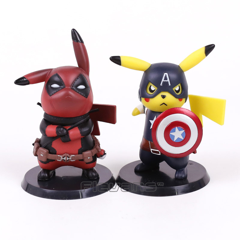 Deadpool Pikachu Action Figure 2