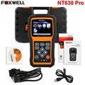 Universal Scanner de Diagnóstico Do Carro OBD2 Foxwell NT630 Pro Motor ABS Air bag Airbag SRS Ferramenta de Diagnóstico de Digitalização Leitor De Código De Reset