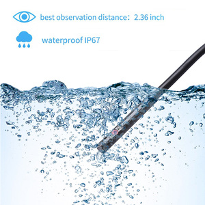 Image 5 - WDLUCKY Double Lens 6MM Endoscope Camera Wifi Flexible IP67 Waterproof Inspection Borescope Camera for Android PC Notebook 6LEDs