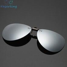 Mens Polarized Clip on Sunglasses Men Women Pilot Sun Glasse