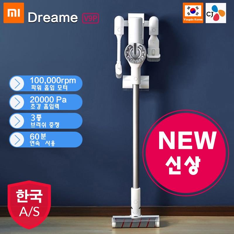 2019 Xiaomi Dreame V9/V9P Handheld Protable Sem Fio Cordless Vacuum Cleaner Coletor de Poeira do Filtro Ciclone Forte Sucção Tapete