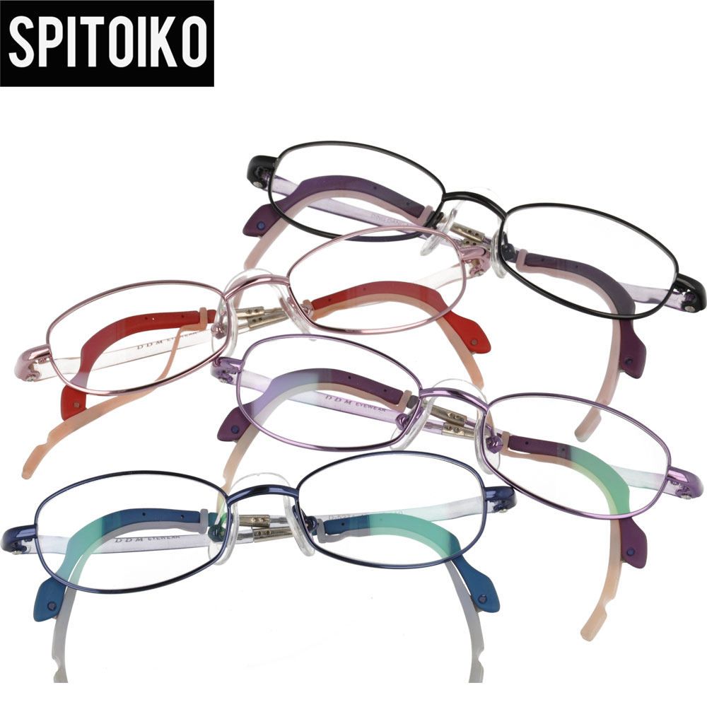 SPITOIKO Kids optical eyeglasses frames prescription full rim myopia spectacles eyewear D5271