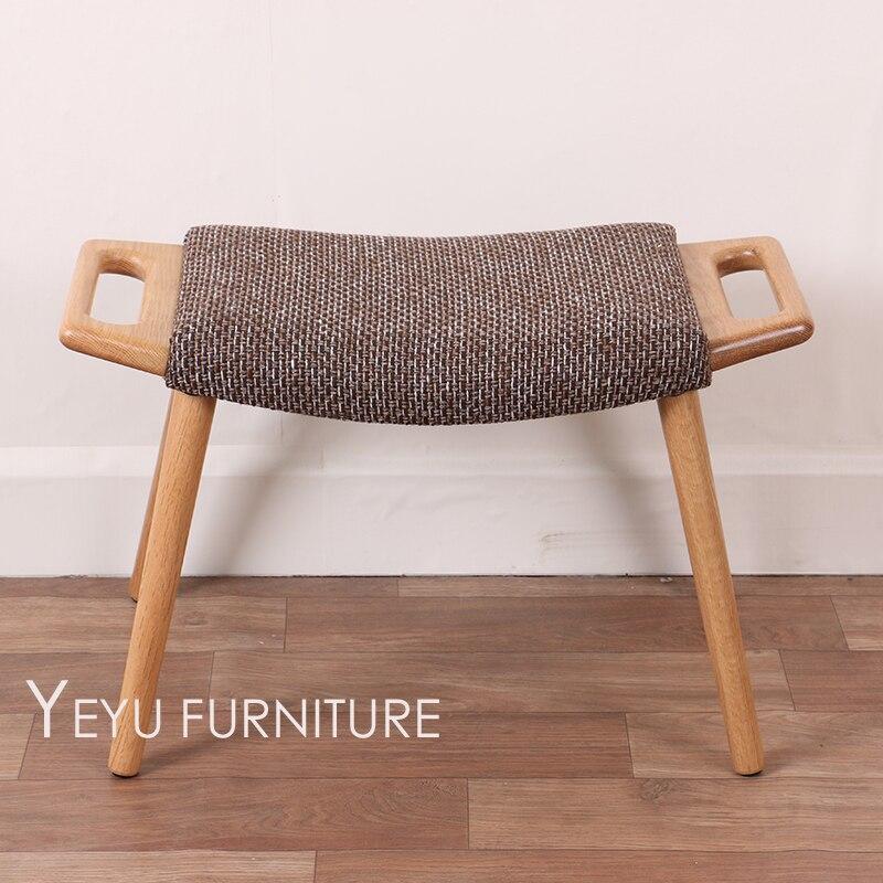 Minimalistischen Modernen Design Massivholz Niedrigen Hocker Stuhl Ndern Make Up Wohnzimmer Holz