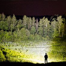led flashlight 40000 lumens xhp50.2 most powerful flashlight