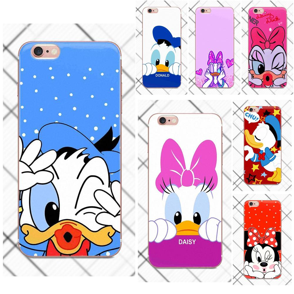 Soft Wholesale For Xiaomi Redmi 5 4A 3 3S Pro Mi4 Mi4i Mi5 Mi5S Mi Max Mix 2 Note 3 4 Plus Lovely Mickey Minnie Mouse Daisy Duck