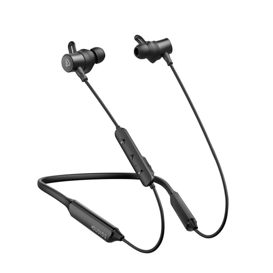Dudios Wireless Bluetooth Earphones Neckband ATPX Deep Bass Bluetooth Earbuds IPX7 CVC6 0 16 hrs Playtime