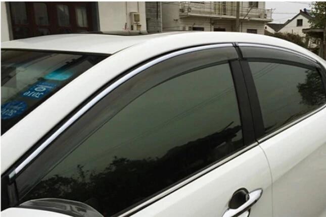 Fit 2013 2014 2015 2016 2017 Nissan Altima Sedan Window Visor Rain Guard
