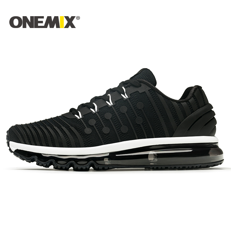 ONEMIX 2018 NEW men running shoes Air cushion running shoes men Breathable Runner mens athletic shoes Sneakers for men-in Running Shoes from Sports & Entertainment    3