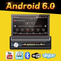2G 32G Android 6 0 Universal Single 1 DIN 7 Car Radio Stereo Quad 4 Core