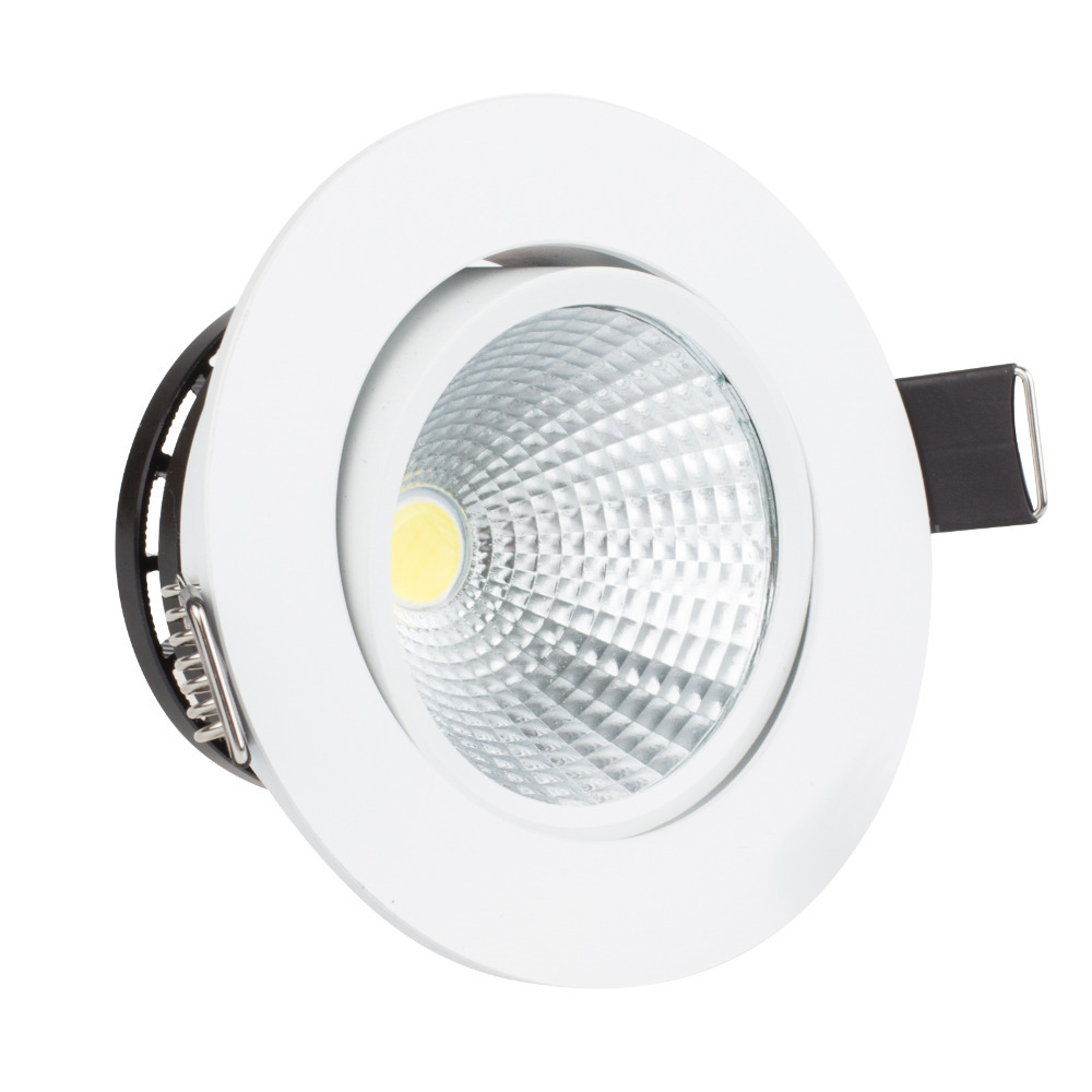 Dimmable led cob ceiling light 3w 5w 7w warm white cold white dimmable led cob ceiling light 3w 5w 7w warm white cold white recessed led lamp spot light ac220v ac110v in downlights from lights lighting on mozeypictures Images