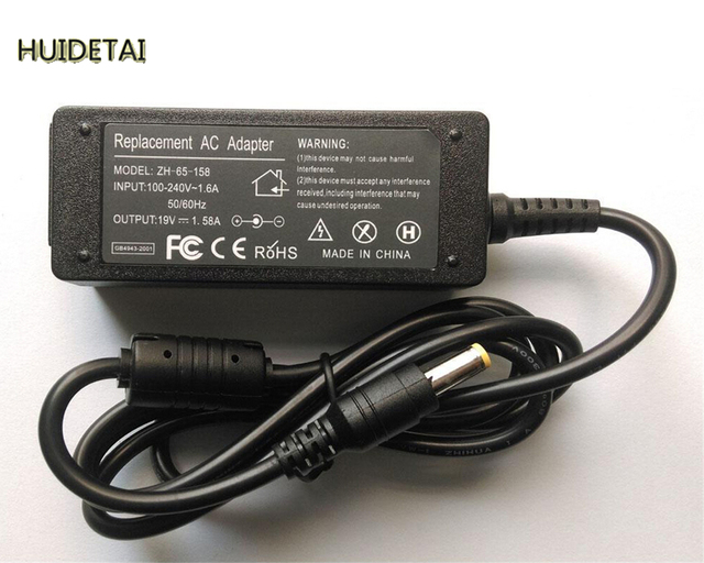 19V 1.58A 30W Universal AC Adapter Battery Charger for Acer Aspire One ZG5 ZA3 NU ZH6 Laptop Free Shipping