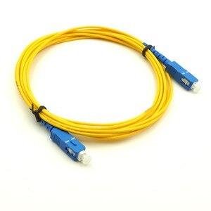 Image 3 - 10 chiếc SC UPC Patchcord Simplex 2.0mm PVC SM Sợi Miếng Dán Cáp dây Quang có Dây Nhảy SM SX SC Cáp 1 m đến 10 m