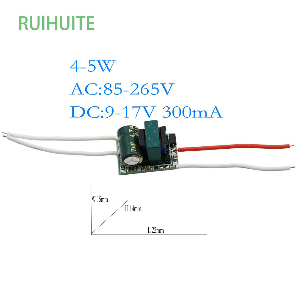 Online Shop 50 Pcs Lot 300ma Led Driver 12 18w 12w 13w 14w 15w 16w Dc 512v Circuit 3w Buy 3wled 4 5x1w 4w 5w Ac 85 265v