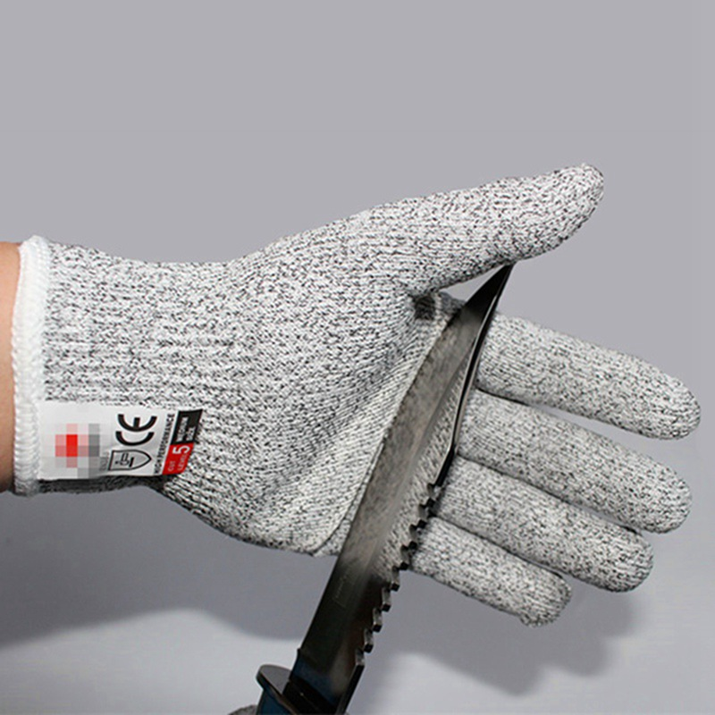 Competent Hot Anti-cut Gloves Safety Cut Proof Stab Resistant Hppe Wire Metal Mesh Kitchen Butcher Cut-resistant Safety Climbing Gloves Nourishing Blood And Adjusting Spirit