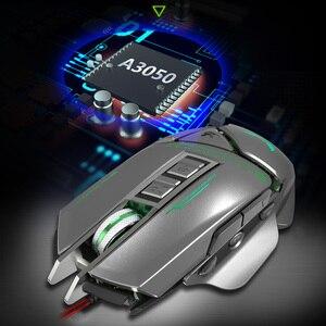 Image 5 - ZERODATE USB verdrahtete maus Ergonomie 3200 DPI einstellbare Mechanische Maus Käfer Kreative 3D Gaming Mäuse RGB Kühle Hintergrundbeleuchtung Nacht