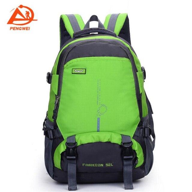 79b8dadc24262 Pengwei Nowy Profesjonalny Wodoodporny Plecak Plecak plecaki Szkolne Torby  męskie Torby Podróżne Plecak 8 kolor dla