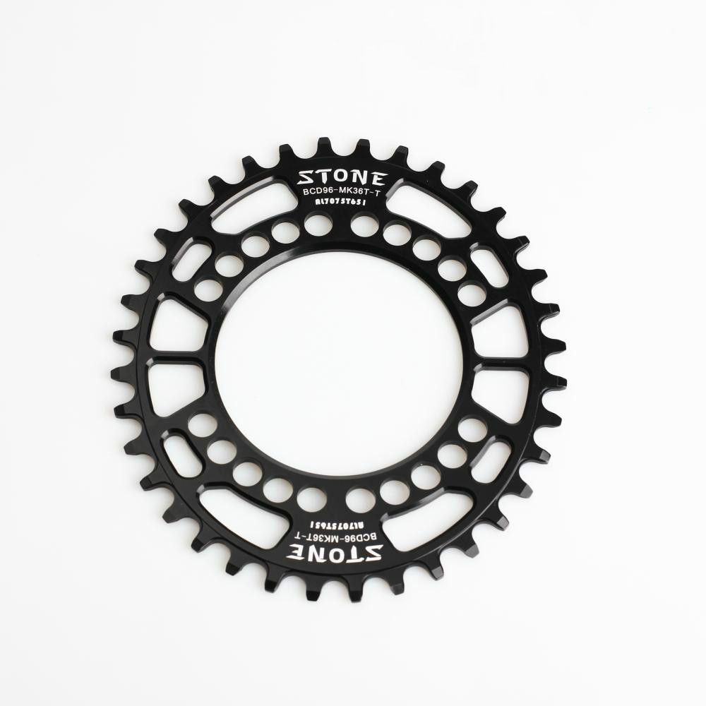 Bicycle oval chainring narrow wide BCD96 for M8000 M9000 38T 40T Chainwheel 9-11 single speed fouriers 7075 oval single chain ring 38t 40t 42t 44t 46t 48t chainrings bcd 104mm narrow wide tooth mtb bike chainwheel crank